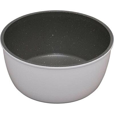 ダイヤモンドコートパン 鍋   ih isn-p20 ホワイト&マーブル kitchen chef フライパン