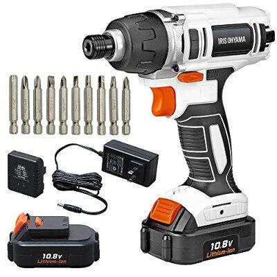 アイリスオーヤマ JID80 充電式インパクトドライバ