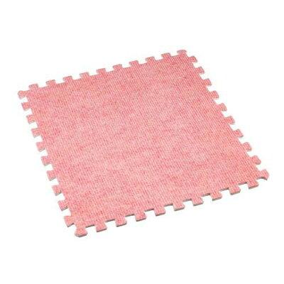 アイリスオーヤマ IRIS OHYAMA ジョイントマットJTM-32CPT 32×32cm/ピンク・ベージュ