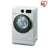 IRIS ドラム式洗濯機 FL81R-W