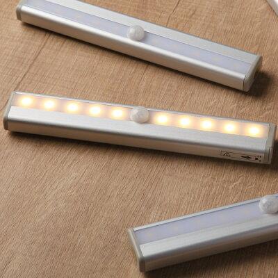 LED センサーライト 乾電池式 どこでもライト DKL-01