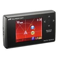 SCX-R203 ユピテル GPS内蔵 レーダー探知機 YUPITERU Super Cat SCXR203
