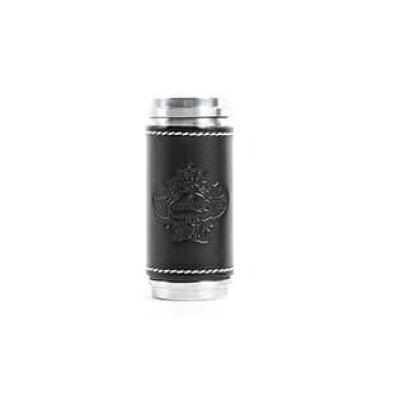Orobianco オロビアンコ 携帯灰皿 レザーブラック ORA-22BK