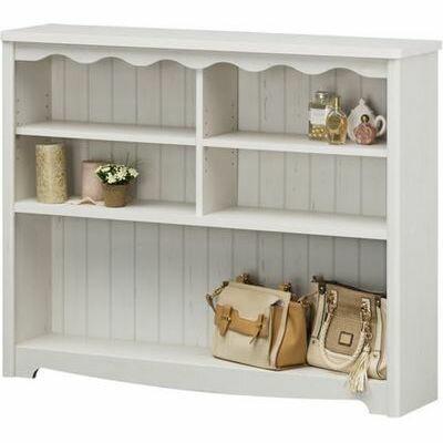 オープンラック 飾り棚 棚 ホワイト フレンチシック モンシェリーヌ MCN-9011 白 幅112cm 【新品】