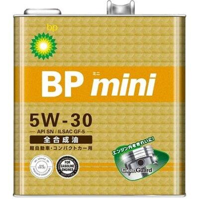ビーピー BP ミニ 5W30 SN GF5 3L ガソリン車用オイル