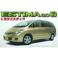 フジミ模型 1/24インチアップディスクシリーズ06 エスティマG 3000 4WD