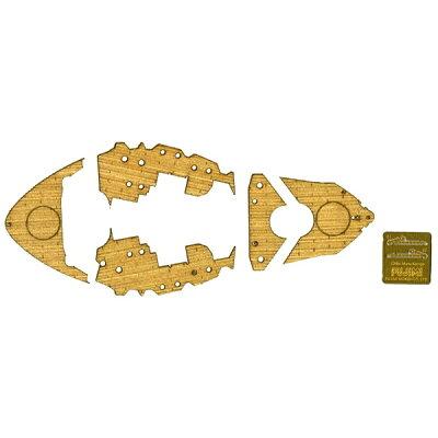 ちび丸グレードアップパーツシリーズ No.4 ちび丸 金剛級専用木甲板シール フジミ模型