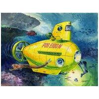 自由研究シリーズ No.61 のりもの編 潜水艦 イエロー プラモデル フジミ模型