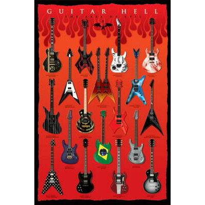 ギター ヘル ポスター / ポスター