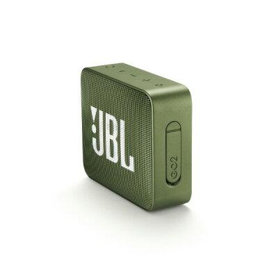 ハーマンインターナショナル JBL Bluetoothスピーカー GO 2 グリーン