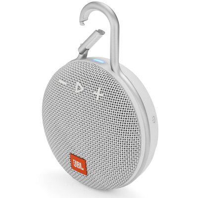 JBL CLIP3 ホワイト Bluetoothスピーカー 防水