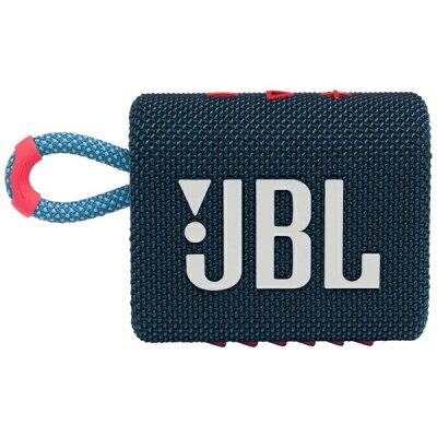 JBL ジェイビーエル ブルートゥース スピーカー ブルーピンク JBLGO3BLUP Bluetooth対応 /防水