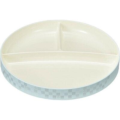 にっぽん伝統色   ランチプレート 藍白 73168-7