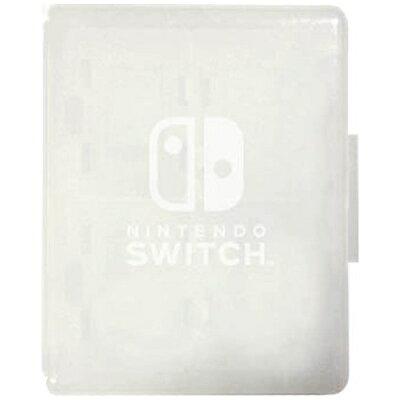 Nintendo Switch専用 カードケース カードポケット4 ホワイト マックスゲームズ