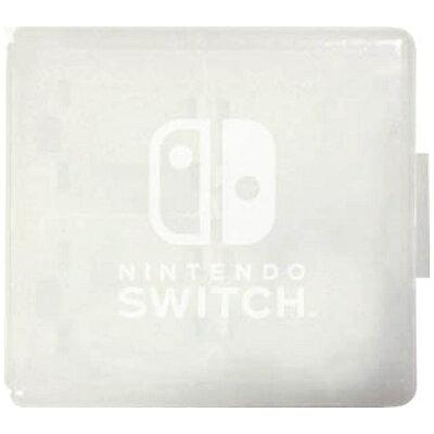 Nintendo Switch専用 カードケース カードポケット24 ホワイト マックスゲームズ