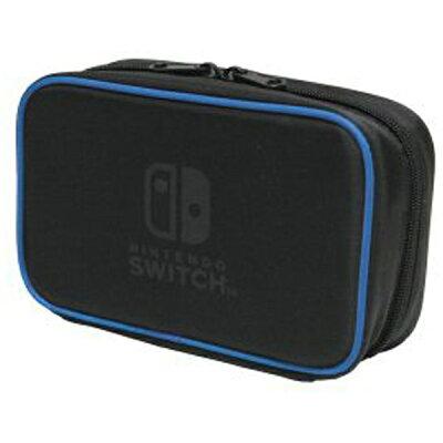 Nintendo SwitchNintendo Switch専用スマートポーチコンパクト ブルー