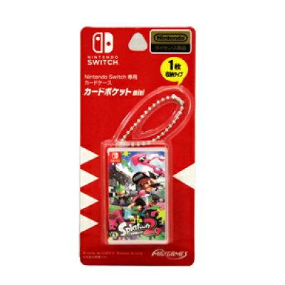 Nintendo Switch専用カードポケットmini スプラトゥーン2 マックスゲームズ
