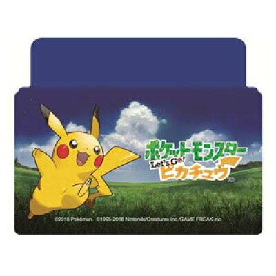 Nintendo Switch専用スタンド付きカバー ポケットモンスターLet's Go!ピカチュウ マックスゲームズ HACH-01PI