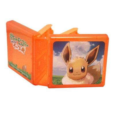 Nintendo Switch専用カードポケット24 ポケットモンスターLet's Go!イーブイ マックスゲームズ HACF-02EE