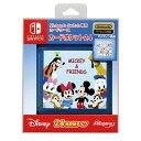 Nintendo Switch専用カードポケット24 ミッキー&フレンズ マックスゲームズ/PGA