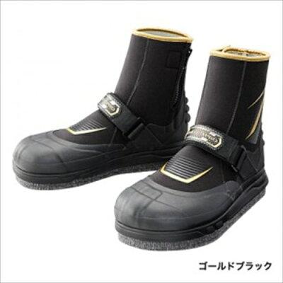 シマノ(SHIMANO) ジオロック・3DカットピンフェルトAYUタビ (中割) TA-153P L ゴールドブラック