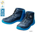 シマノ ドライシールド デッキラジアルフィットシューズ FS-082P ネイビー 靴 シューズ フィッシング ラジアルブーツ
