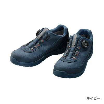 シマノ(SHIMANO) ドライシールド デッキラジアルフィットシューズ LW FS-081Q 24cm ネイビー