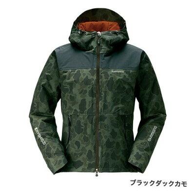 シマノ SHIMANO RB-04JS DSエクスプローラーウォームジャケット L 黒柄 ブラックダックカモ 65359