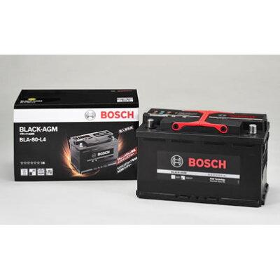 BOSCH BLACK-AGM 高性能バッテリー 欧州車用 BLA-80-L4