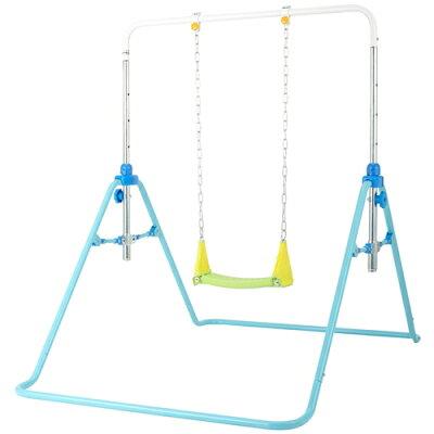 遊びが運動!折りたたみブランコ鉄棒(1個)