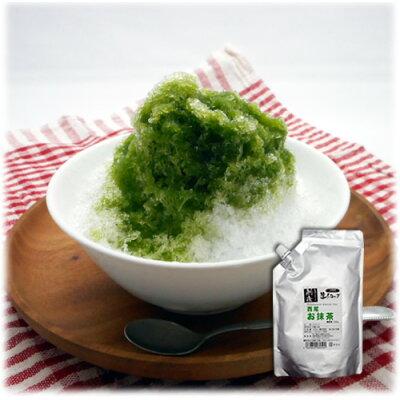 宮下製氷冷蔵 業務用 生シロップ 西尾のお抹茶 600g