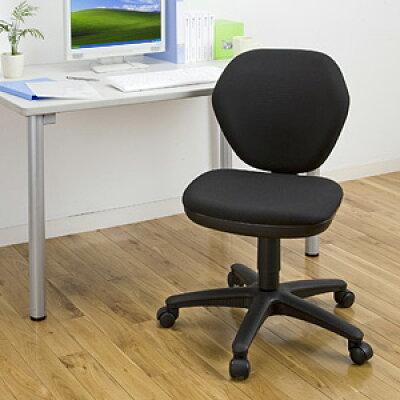 オフィスチェア  ロッキング機能付 (ブラック) (100-SNC025BK)