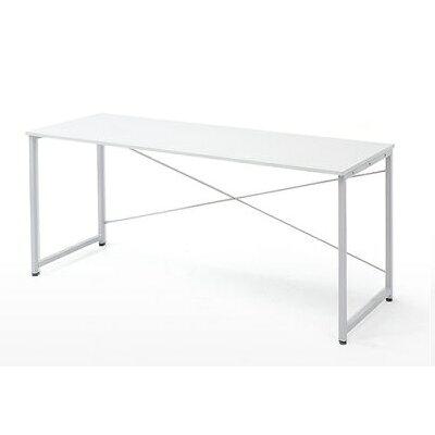 シンプルワークデスク オフィスデスク  幅 奥行  シンプルなホワイト天板  100-deskf006