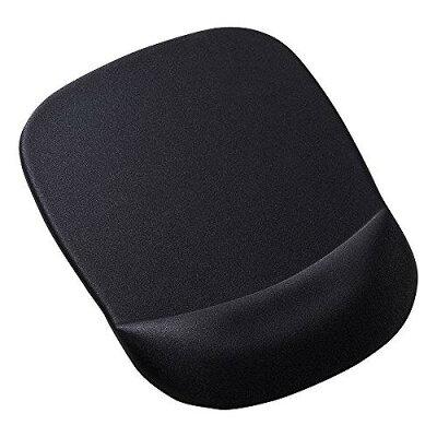 低反発リストレスト付きマウスパッド ブラック MPD-MU1NBK(1枚入)