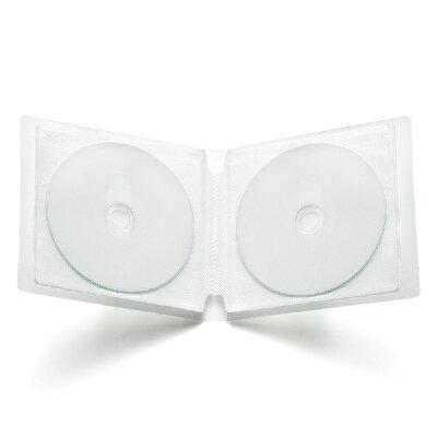 サンワサプライ SANWA SUPPLY DVD・CDファイルケース 収納・クリア FCD-FL12CL