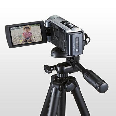 カメラ三脚 デジカメスタンド 軽量 4段伸縮  (200-CAM021N)