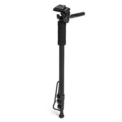 カメラ一脚 雲台付・コンパクト・4段伸縮・レバーロック  EZ2 DGCAM016