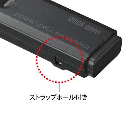SANWA SUPPLY カードリーダー ADR-MSDU2BK