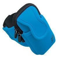 サンワサプライ アームバンドスポーツケース(ブルー) PDA-MP3C8BL