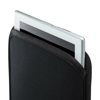 サンワサプライ ネオプレンスリップインタブレットPCケース PDA-TABS10BKN