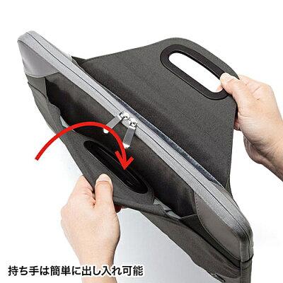 SANWA SUPPLY 衝撃吸収PCケース IN-MF15BK