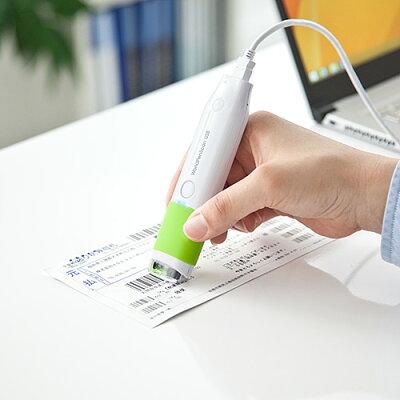 ペン型スキャナ  USB接続 スティック型(400-SCN037)