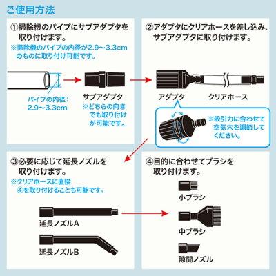 バキュームアタッチメントキット CD-83KTN(1セット)