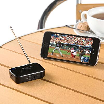 ワイヤレスワンセグチューナー iPhone スマホ タブレット対応 録画対応 高感度ロッドアンテナ 据え置きアンテナ付属