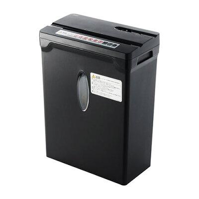 シュレッダー 家庭用 電動 A4 10枚細断 ホッチキス カード クロスカット デスクサイドシュレッダー シュレッター 400-PSD031