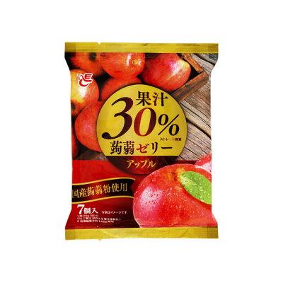エースベーカリー 果汁30%蒟蒻ゼリー アップル 7個