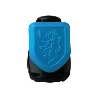 ソニック キッズクリップ エンブレム 服に穴が開かない名札留め ブルー SK-1574-B
