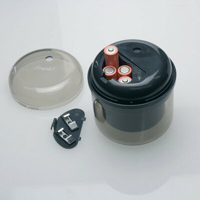 ソニック リビガク フリーキー 乾電池式電動鉛筆削り ブラッ LV-1587-D