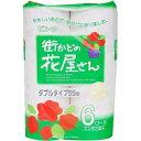 街かどの花屋さん プリント 香り付 ピンク 55m 6R(ダブル)
