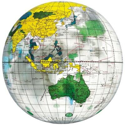 地球儀ボール クリア
